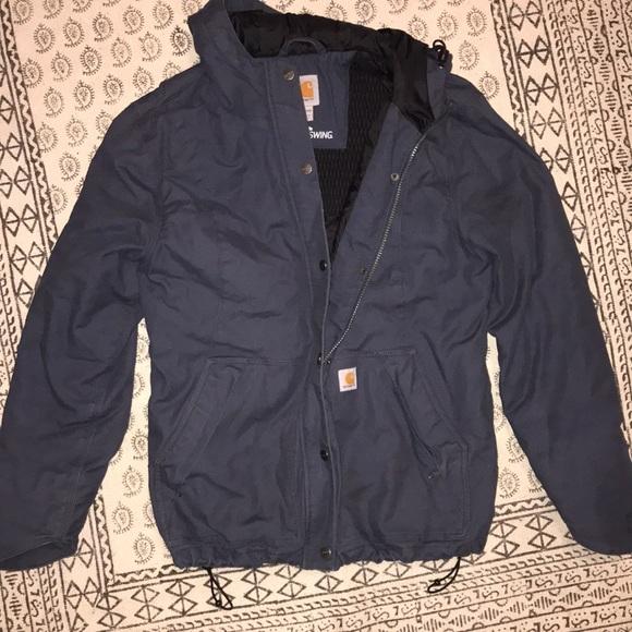 a3393997a3518 Carhartt Jackets   Blazers - Carhartt Women s Winter Jacket in Navy Large